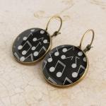 Music Earrings, Music Jewel..